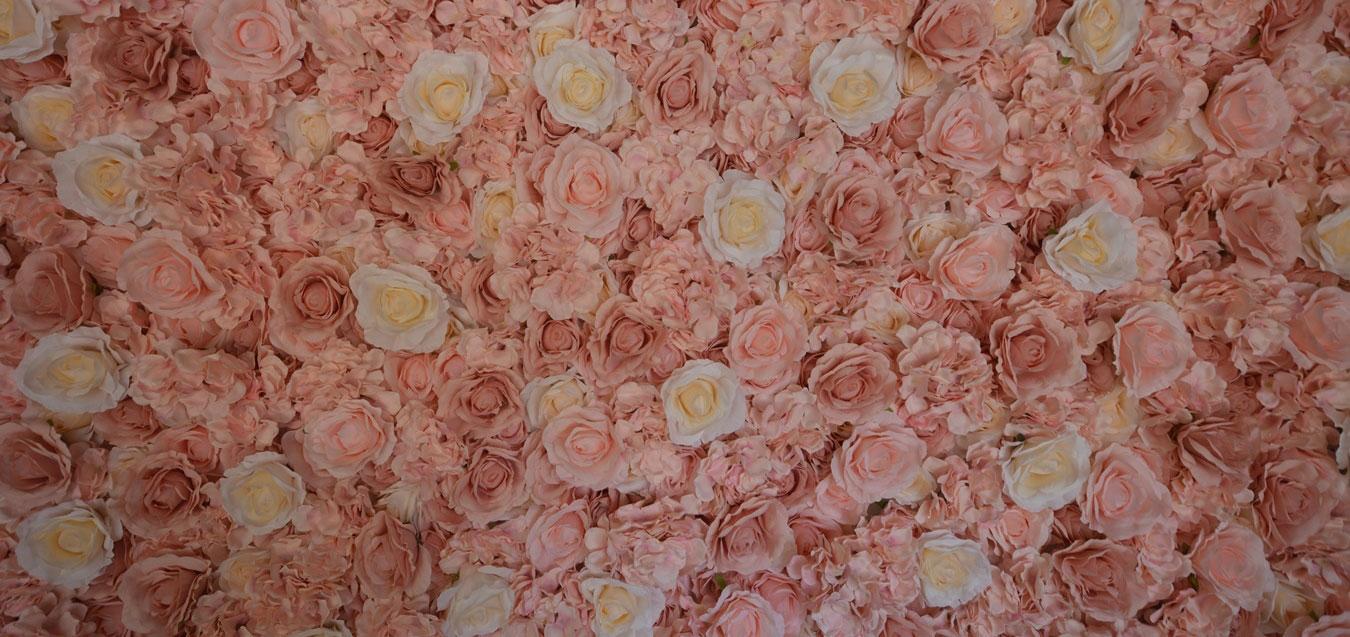 Wedding Flower wall in Sydney